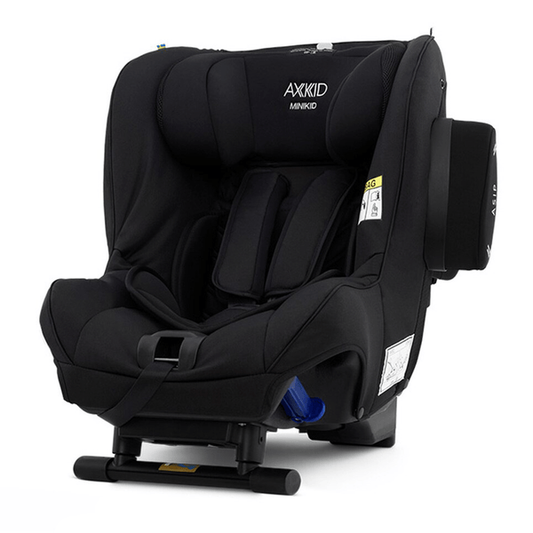 Axkid Minikid ERF Car Seat Premium Shell Black Extended Rear Facing Car Seats 22140221 7350057584408