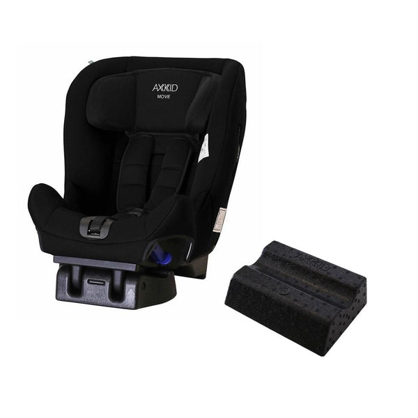 Axkid Move Car Seat Black with Free Car Seat Wedge Extended Rear Facing Car Seats 3n5fog1 7350057582183