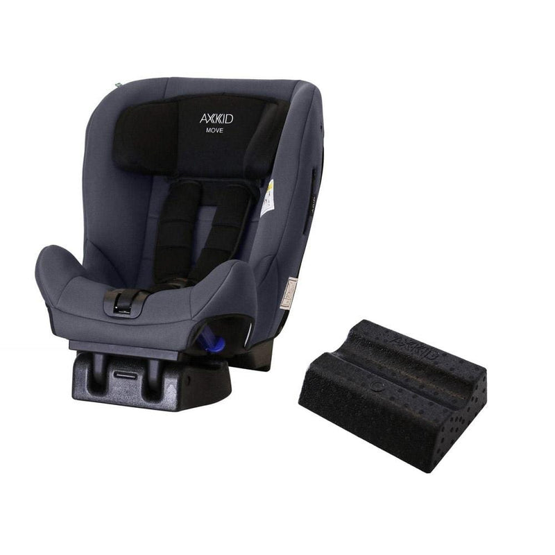 Axkid Move Car Seat Grey with Free Car Seat Wedge Extended Rear Facing Car Seats k89tm48 7350057582411