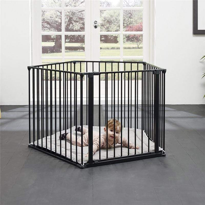 Baby Dan BabyDen Playpen Black Stair Gates & Safety Gates 67116-2600-1400-10 5705548028176