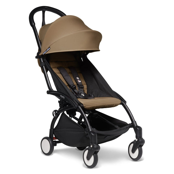 BabyZen YoYo2 6m+ Stroller Black/Toffee Pushchairs & Buggies 6158-BLK-TOE 3701244000616