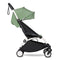 BabyZen YoYo2 6m+ Stroller White/Peppermint Pushchairs & Buggies 6138-WHT-PET 3701244000623