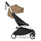 BabyZen YoYo2 6m+ Stroller White/Toffee Pushchairs & Buggies 6140-WHT-TOE 3701244000623