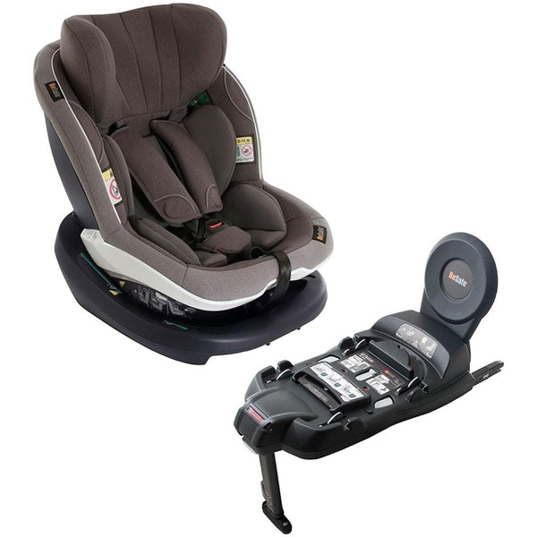BeSafe Izi Modular With Isofix Base Metallic Melange ADAC Car Seat Test Winners 6cky261 7043485800027