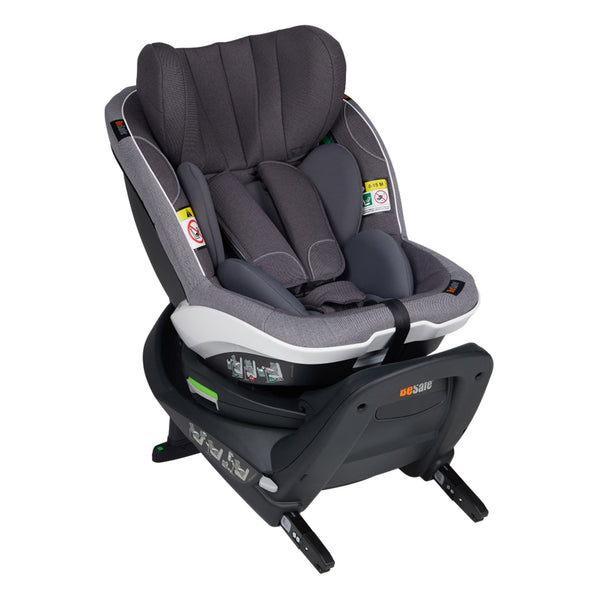BeSafe izi Turn i-Size Car Seat Metallic Melange i-Size Car Seats 11007222MM 7072754003388