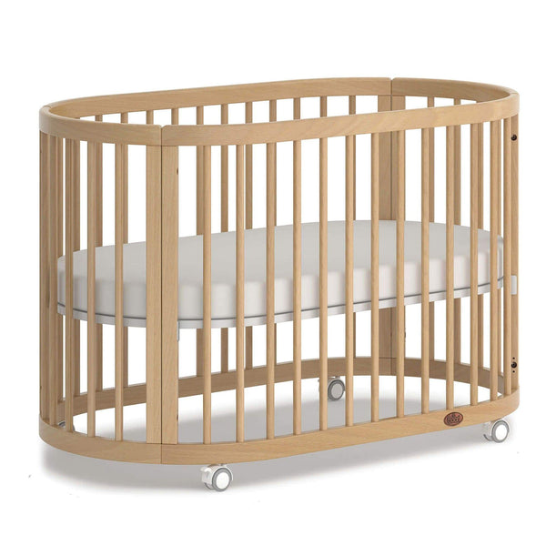 Boori Oasis Oval Cot Beech Cots B-OAOCCO-BH 7426968065104