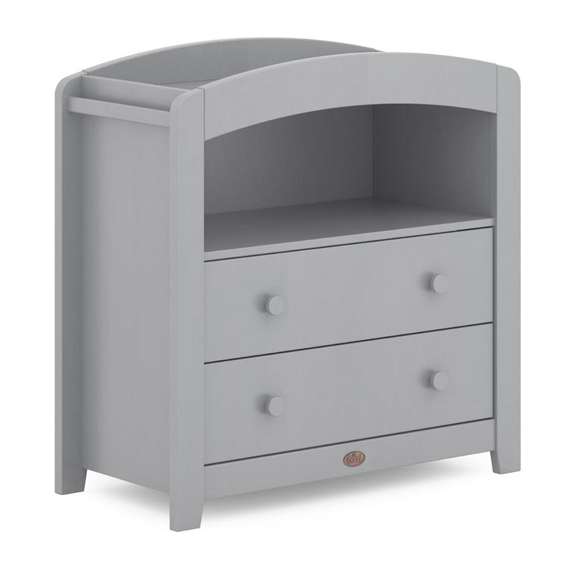 Boori Curved 2 Drawer Chest Pebble Dressers & Changers B-CU2DC-PL 9328730022941