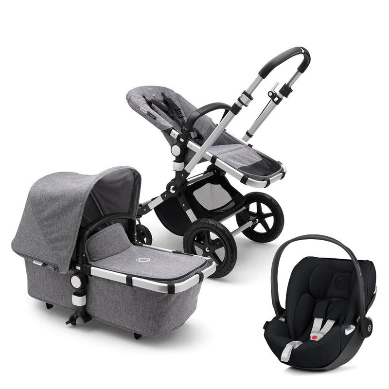 Cameleon 3 Plus Cloud Z Travel System Alu/Grey Melange Travel Systems 22fpaqx 8717447103844