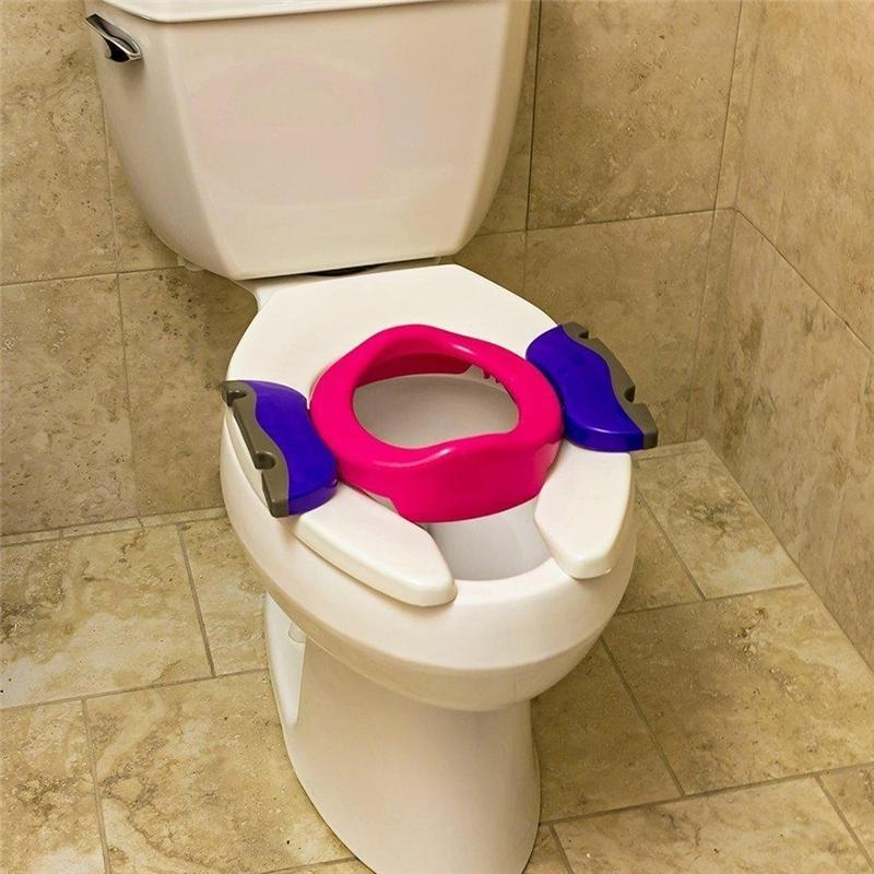 Potette Plus 2 in 1 Travel Potty Pink/Purple Potty Training POPL-PP 5060126200178