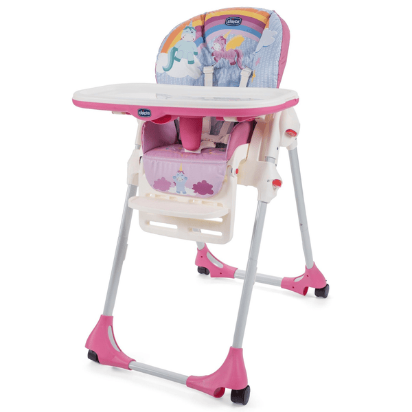 Chicco Polly Easy Highchair Unicorn Baby Highchairs 05079565100930 8058664110742