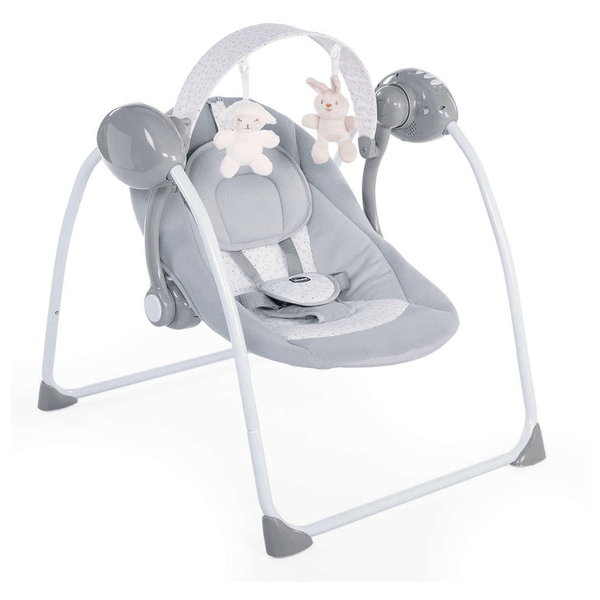 Chicco Relax & Play Swing Cool Grey Baby Swings 79148190930 8058664110766