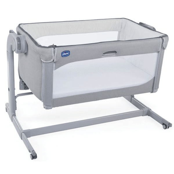 Chicco Next2Me Magic Side-Sleeping Cot Cool Grey Cribs 00079584190930 8058664110803