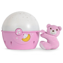 Chicco Next2Stars Sleep Aid Pink Night Lights 00007647100000 8058664062348