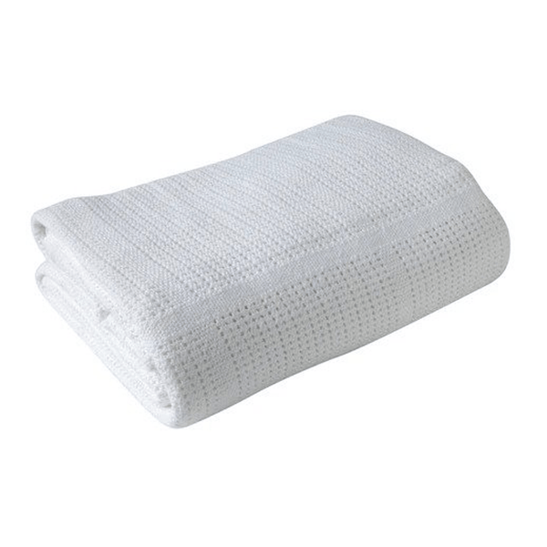 Clair De Lune Cellular Cot Blanket White Cot & Cot Bed Blankets CL4984 5033775004503