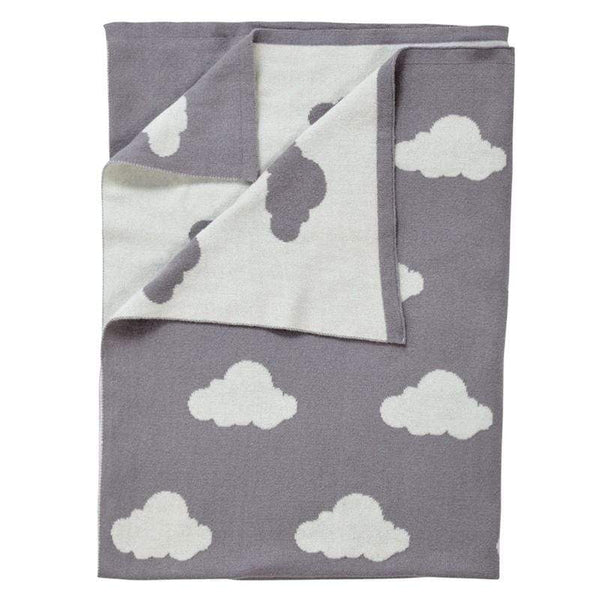 Clair De Lune Reversible Cloud Blanket Cot & Cot Bed Blankets CL6109 5033775433501