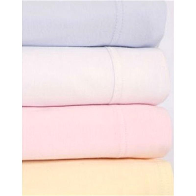 Clair De Lune Cot Bed Fitted Sheet 2 Pack Pink Cot & Cot Bed Sheets CL3029P 5033775088503