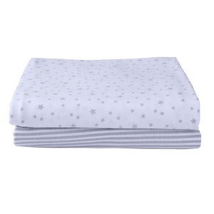 You added <b><u>Clair de Lune Moses Fitted Printed Sheet 2 Pack Grey</u></b> to your cart.