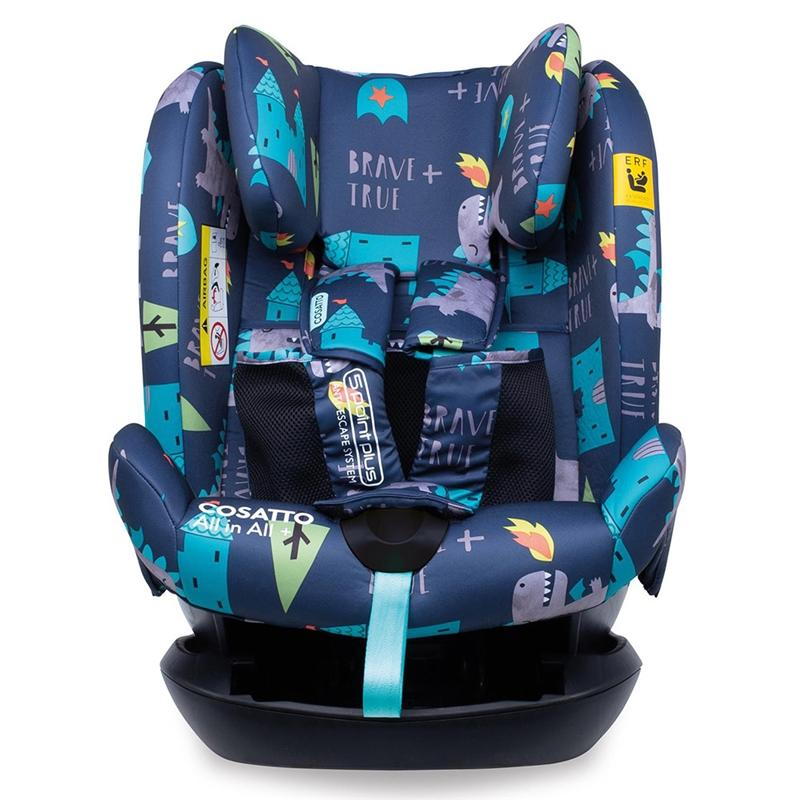Cosatto All in All Plus 0+/1/2/3 Car Seat Dragon Kingdom 9-36 kgs (9 Months to 12 Years) CT4262 5021645056974