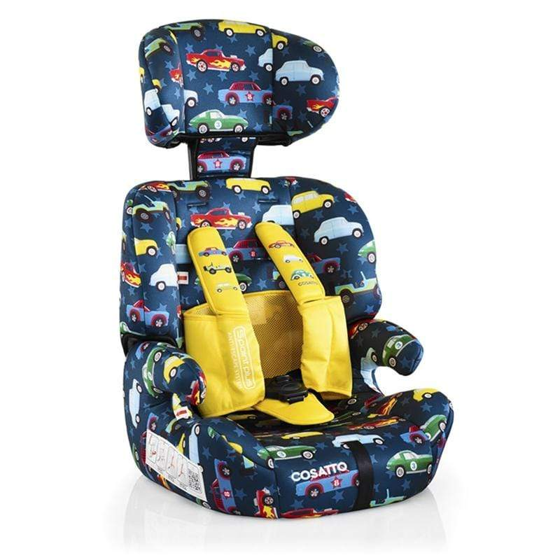 Cosatto Zoomi Car Seat Rev Up Highback Booster Seats CT3310 5021645047385