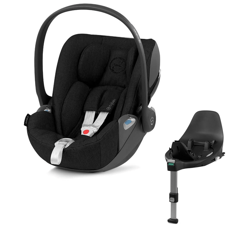 Cybex Cloud Z i-Size Plus Deep Black and Base Z Baby Car Seats 6624-DEE-BLK 4058511803920