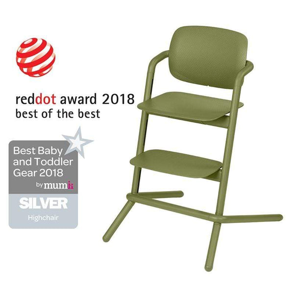 Cybex LEMO Highchair Outback Green Baby Highchairs 518001473 4058511265957