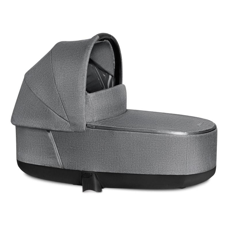 Cybex Priam Lux Carrycot Plus Manhattan Grey Chassis & Carrycots 519004113 4058511734033