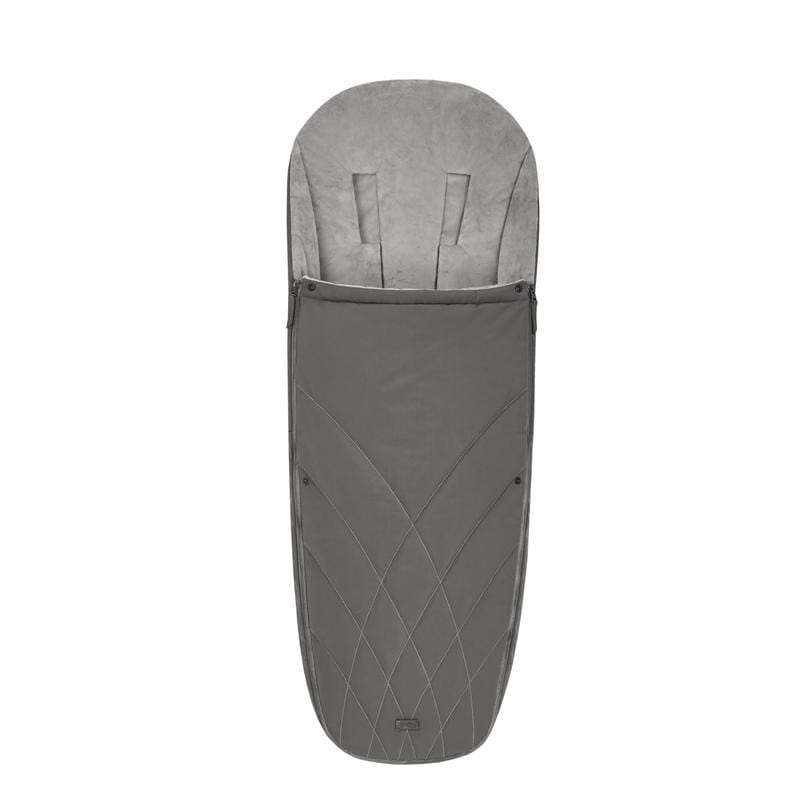 Cybex Platinum Footmuff Soho Grey Footmuffs & Liners 520003270