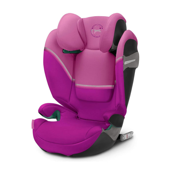 Cybex Solution S i-Fix Magnolia Pink Highback Booster Seats 520002416 4058511909844