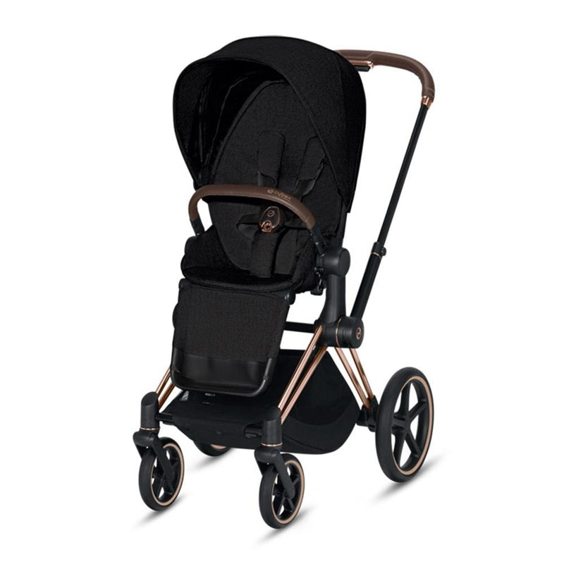 Cybex Priam Pushchair Rose Gold/Stardust Black Plus Pushchairs & Buggies 8ipi07p 4058511577593
