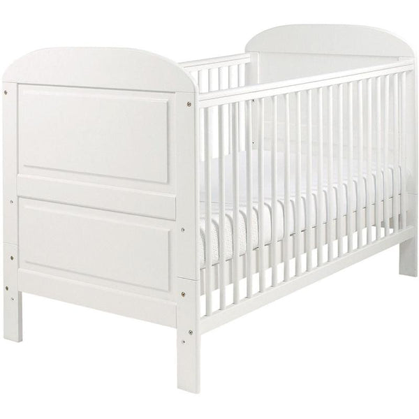 East Coast Angelina Cotbed White Cot Beds 7562W 5021669803318