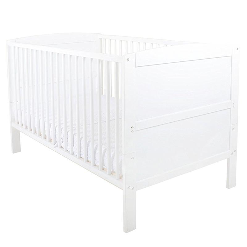 East Coast Hudson Cotbed White Cot Beds 5850WN 5021669826737