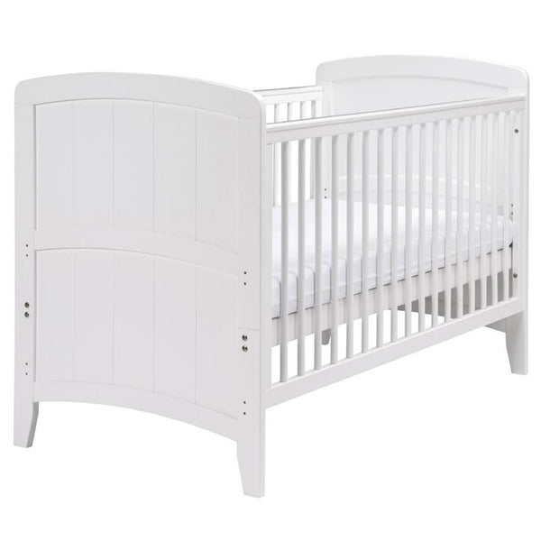 East Coast Venice Cotbed White Cot Beds 7846W 5021669839089