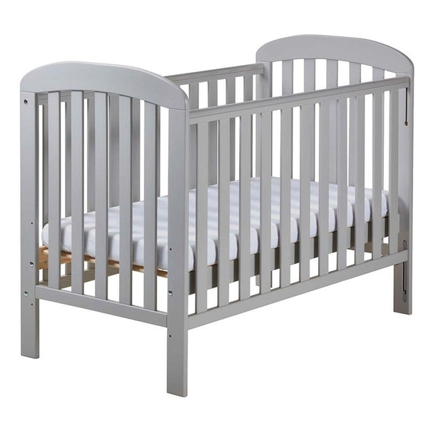 East Coast Anna Dropside Cot Grey Cots 8550 5021669545782