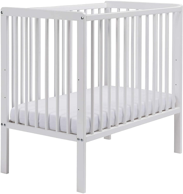 East Coast Carolina Space Saving Cot White with Spring Mattress Cots 7841WS 5021669549315