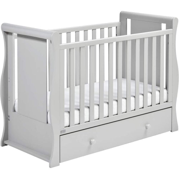 East Coast Nebraska Cot2Bed Grey Cots 9012G 5021669548530