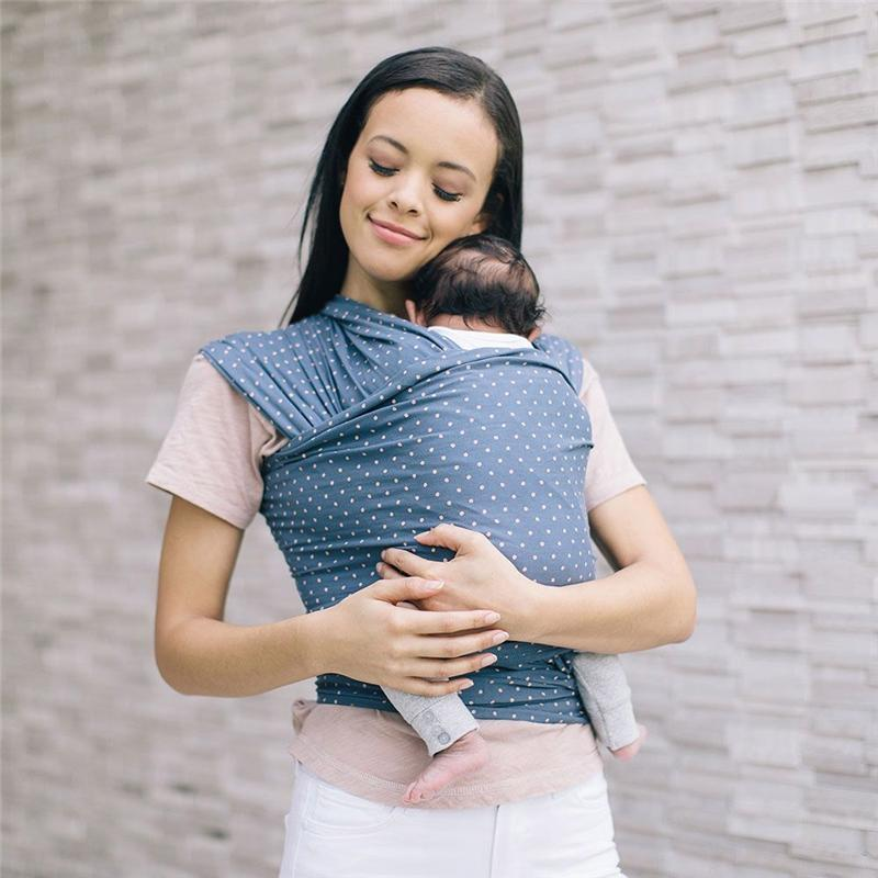 Ergobaby Aura Baby Wrap Coral Dots Baby Carriers WLACRLDOT 8451970632814