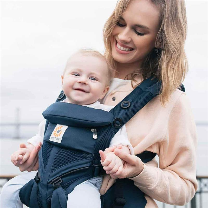 Ergobaby Omni 360 Cool Air Baby Carrier Midnight Blue Baby Carriers BCS360PMIDBLU 8451970287915