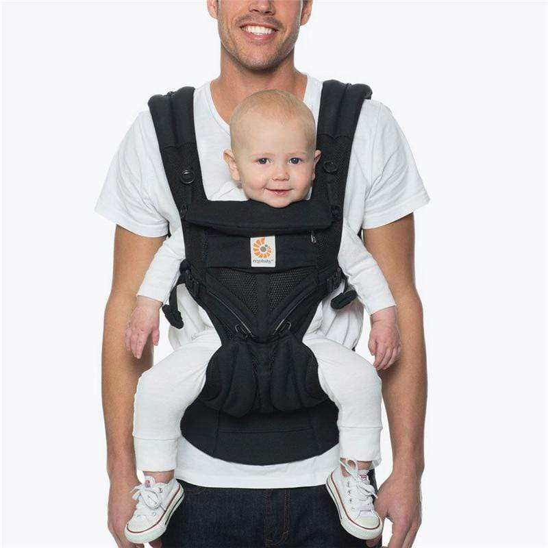 Ergobaby Omni 360 Cool Air Baby Carrier Onyx Black Baby Carriers BCS360PONYX 8451970631114
