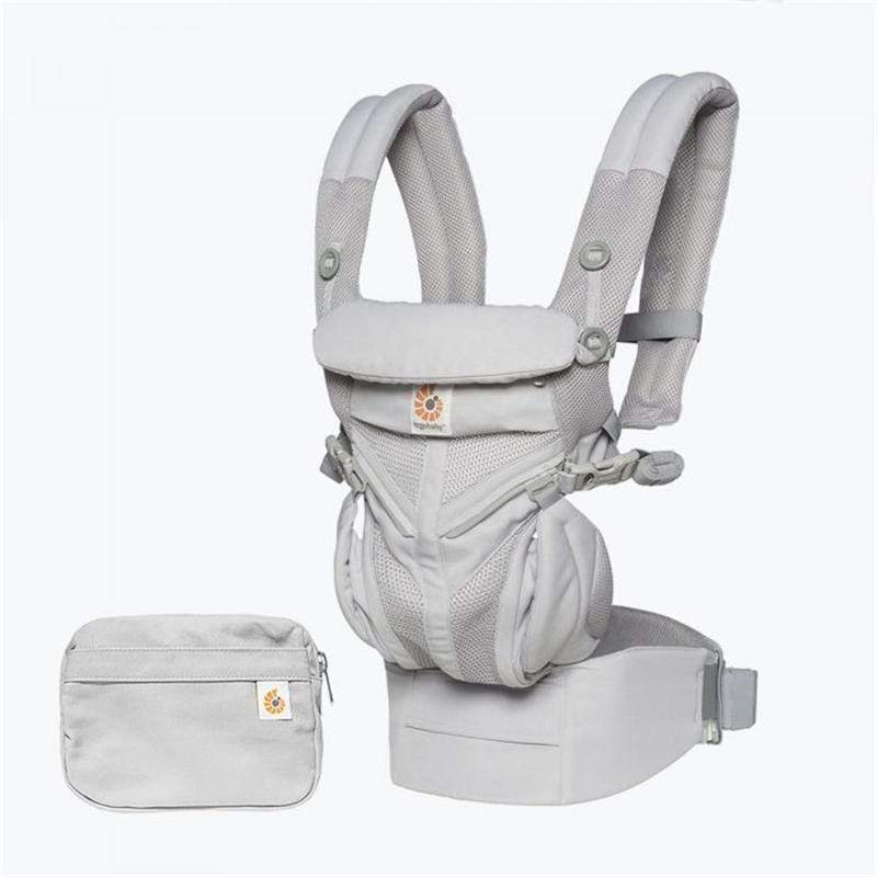 Ergobaby Omni 360 Cool Air Baby Carrier Pearl Grey Baby Carriers BCS360PGREY 8451970588715