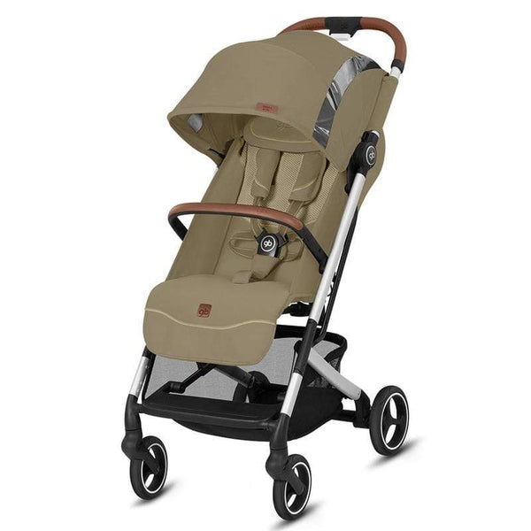 GB Qbit+ All-City Fashion Edition Vanilla Beige Pushchairs & Buggies 619000189 4058511572109