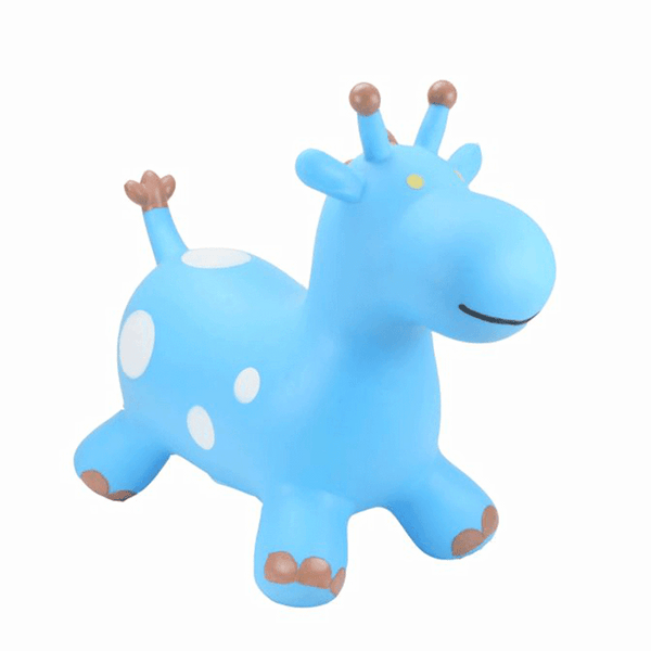 Happy Hopperz Blue Giraffe Rocking Animals HHZ005 5060267080400