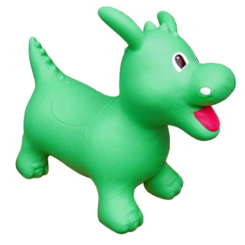 Happy Hopperz Green Dinosaur Christmas Shop HHZ11 5060267080172
