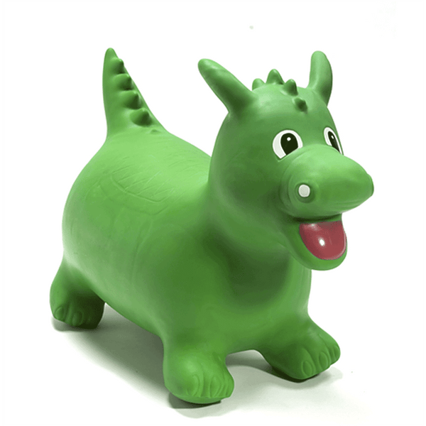 Happy Hopperz Green Dragon Rocking Animals HHZ010 5060267080417