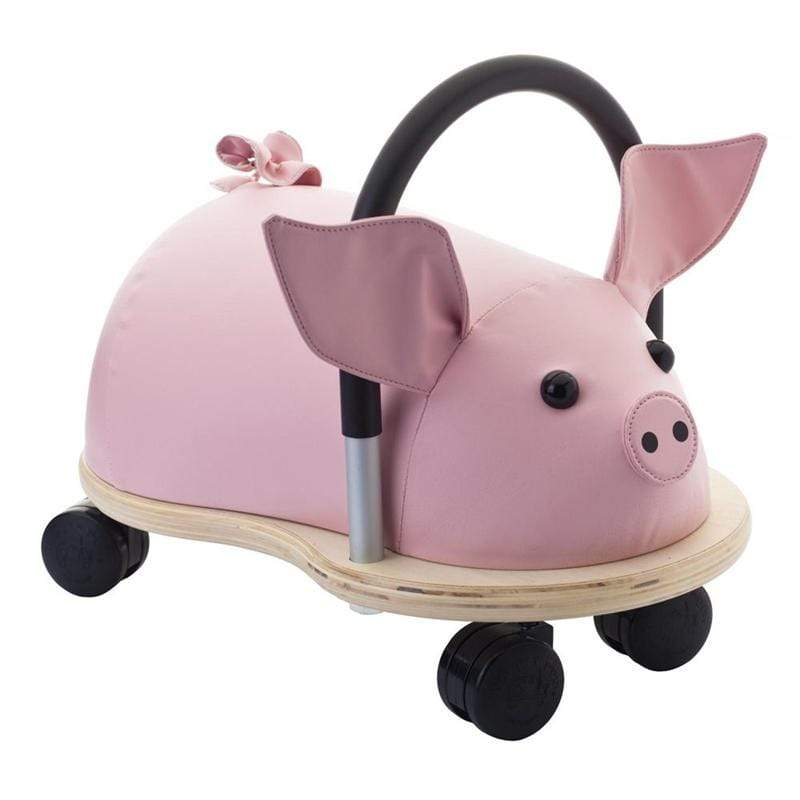 Hippychick Wheelybugs Large Pig Christmas Shop WBPIGL 5060248810965