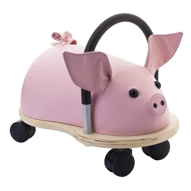 Hippychick Wheelybugs Small Pig Christmas Shop WBPIGS 5060248810958
