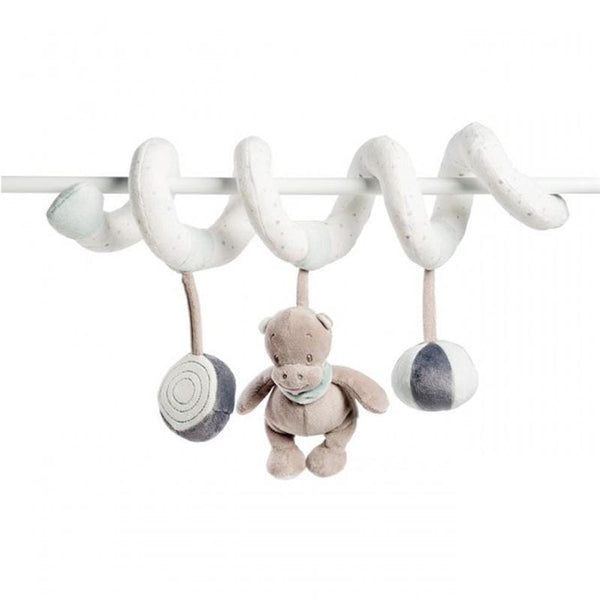 Nattou Toy Spiral LouLou, Lea and Hippolyte Soft Animals NATLLH963299 5414673963299