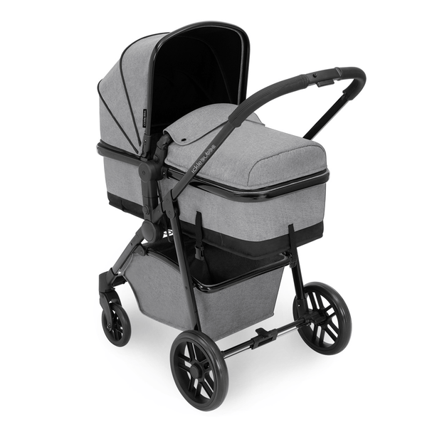 Ickle Bubba Moon 2-in-1 Pushchair Black/Space Grey Baby Prams 10-005-000-014 0709016517907