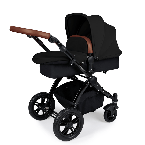Ickle Bubba Stomp V3 2-in-1 Pushchair Black/Tan/Black Baby Prams 10-003-000-003 0709016518362