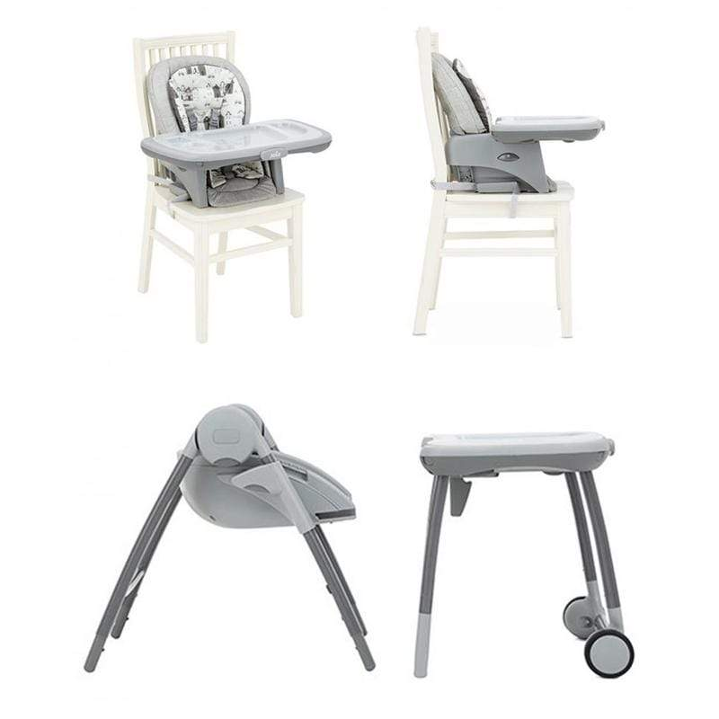 Joie Multiply 6 in 1 Highchair Petite City Baby Highchairs H1605AAPTC000 5056080600314