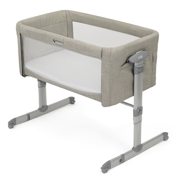 Joie Roomie Glide Co-Sleeper Almond Cribs P1814AAALM000 5056080608822